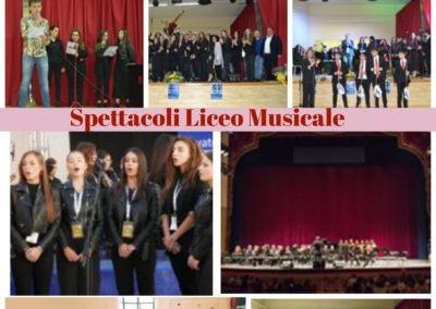 spettacoli liceo musicale
